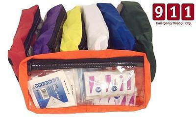 Paramedic Broselow Hinkle Color Coded Organizer Inserts Set Only Pediatric EMS