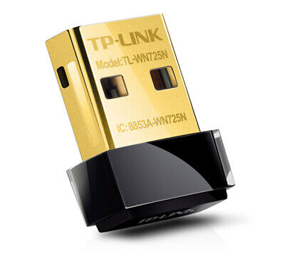 TP-Link TL-WN725N Wireless N150 Nano USB Network Adapter WiFi Dongle Stick