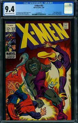 X-Men 53 Cgc 9.4 - Windsor-Smith Art
