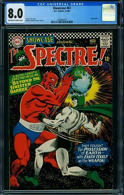 Showcase 61 Cgc 8.0 - Ow/w Pages