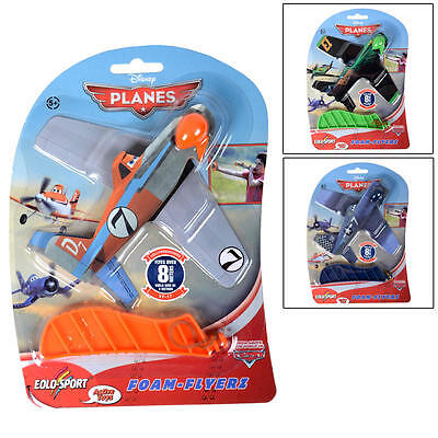 Disney Pixar Planes Foam Flyers Flying Plane with Launcher - Ripslinger