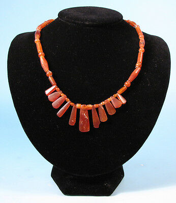Canaanite Carnelian Bead Necklace - Ancient Art & Antiquities