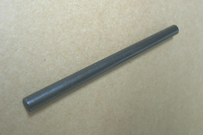 "Black Alloy Steel Straight Retaining Dowel Pin 1/4"" x 3-7/8"" Hardened Retainer"