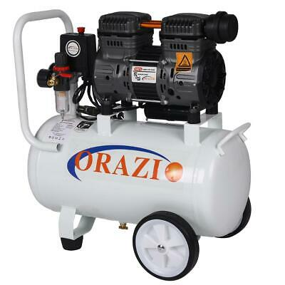 241184 Low Noise Silent Air Compressor 65DB 220V 750W 24L For Garage Clinic
