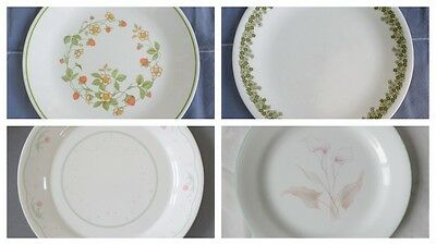 Corelle Corning Dishes Replacements Strawberry Sundae Spring Blossom Plates Etc