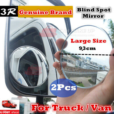 2 pcs large Rear view Blind Spot Mirror Convex Wide Angle car van truck bus