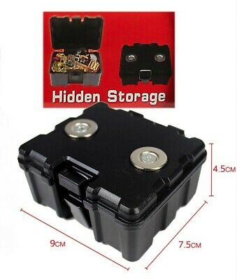 Hidden Storage Magnets stick to bottom of Car Stash Compartment