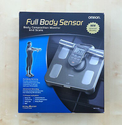 Omron HBF-514C Full Body Composition Sensing Scale and Monitor,BrandNew,Warranty