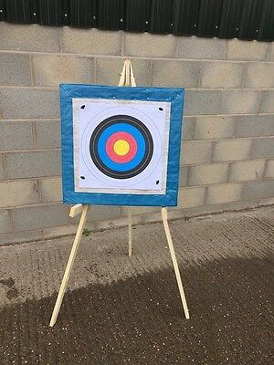 archery target straw boss stand 20 x free target faces  sent fast and free