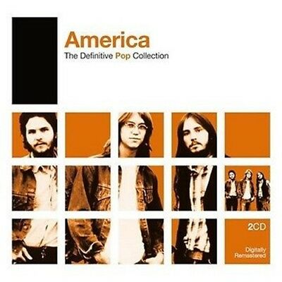 AMERICA - The Definitive Pop Collection 2 CD *NEW* Very Best Of, Greatest Hits