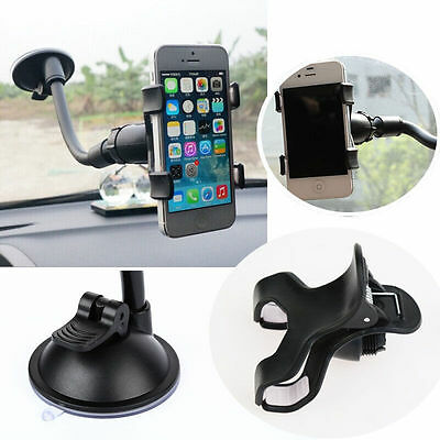 Mount Holder Stand Cup Bracket Window Fine Car Windshield for GPS Mobile Phone