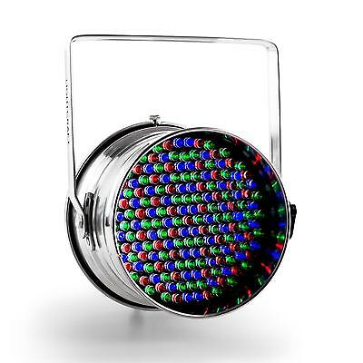 DISCO PARTY DJ LED PAR64 CAN LIGHT DMX RGB LEDs SPOTLIGHT PA DISCO STAGE LIGHTS