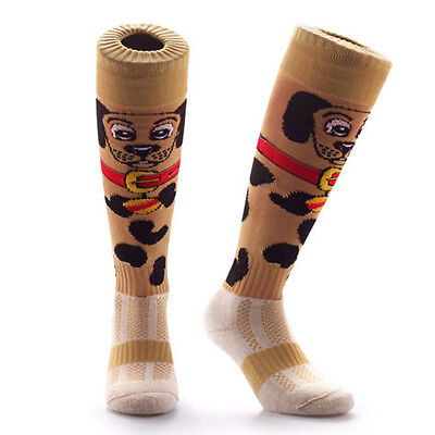 Samson® Funky Football Socks Puppy Dog Doggy Rugby Hockey Mens Womens Kids Gift