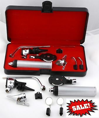 ENT Nasal Larynx Opthalmoscope Ophthalmoscope OTOSCOPE Medical Diagnostic Kit CE