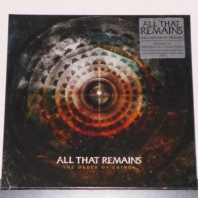 All That Remains - The Order Of Things / Doppel-LP ltd (7930183614-1) clear