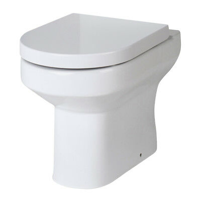 Premier Harmony Back-to-Wall Toilet WC 510mm Projection excluding Seat