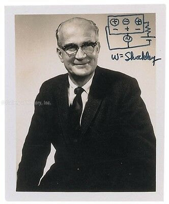 William Shockley - Photograph Signed