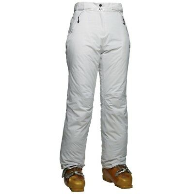 Women's dare2b 'Cascara' White Ski Salopettes/Pants.