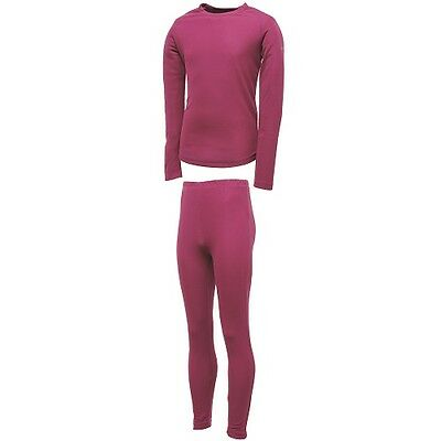 Girl's Dare 2B Cool Off Ii Thermal Base Layer Set.  Main Colour 'Fuchsia' Pink.