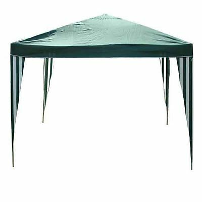 Kingfisher 2.4m Gazebo Party Tent PE Garden Canopy Marquee Waterproof Outdoor