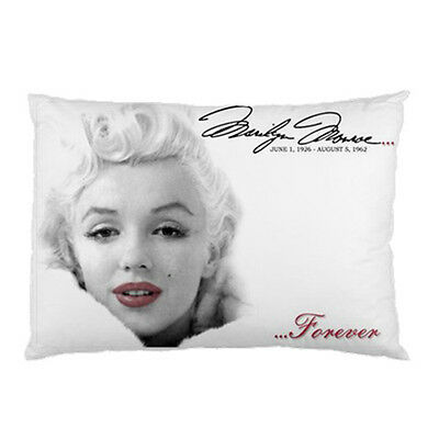 "MARILYN MONROE Photo Bedding Room Pillow Case/Cover 30"" x 20"" -NEW"