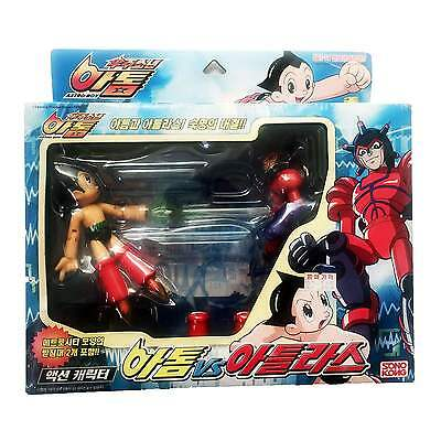 Astro Boy VS Atlas Action Figure Made by Takara Sonokong 2003 Collection Toy