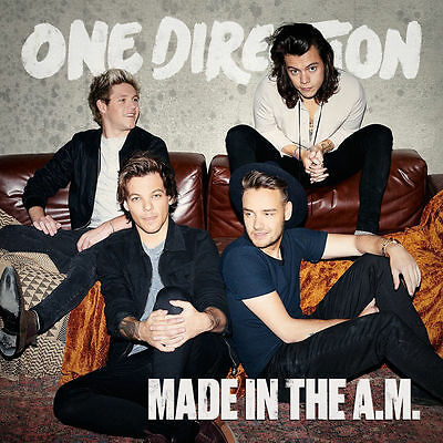 One Direction Made In The A.m. Brand New Sealed Cd 2015