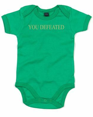 You Defeated, Printed Baby Grow