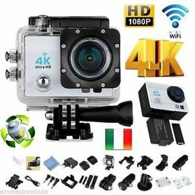 Pro Cam 4K SPORT WIFI ACTION CAMERA ULTRA HD VIDEOCAMERA SUBACQUEA GOPRO Q3 EMM