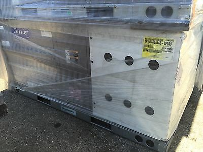 Carrier 5 Ton Commercial Packaged Unit 460V 3Ph Gas Heater Economizer 48Tcda06