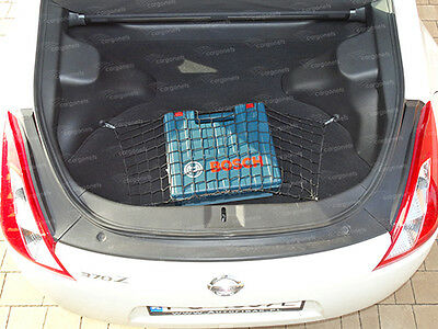 Cargo Net Nissan 370Z Coupe Car Boot Luggage Trunk Floor Net Organiser