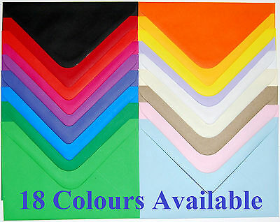 Superb Quality 125mm x 175mm (G6) 100GSM Envelopes - Choice of Colour & Qty