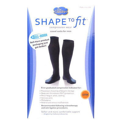 Dr Comfort Casual Socks 20-30 mmHg Compression Calf Support
