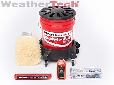 """WeatherTech Ready to Wash """"Just Add Water"""" Complete Set"""