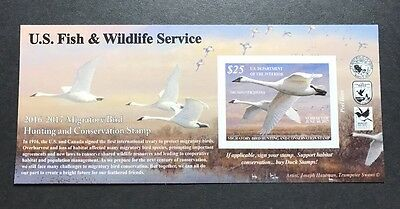 #RW83A 2016 - 2017 - US Federal Duck Stamp - Post Office FRESH