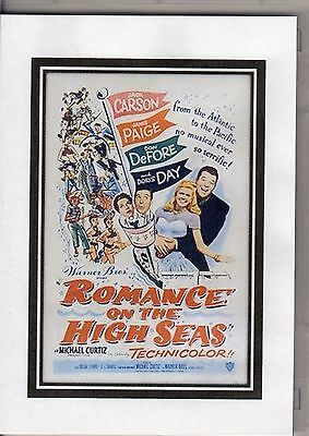 Romance On The High Seas Doris Day & Jack Carson  All Region Dvd *