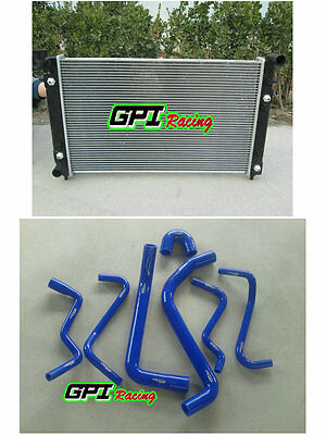 RADIATOR HOLDEN COMMODORE VT (SERIES 1 AND 2)  VX V6 AT/MT 2 Oil Cooler +bl HOSE