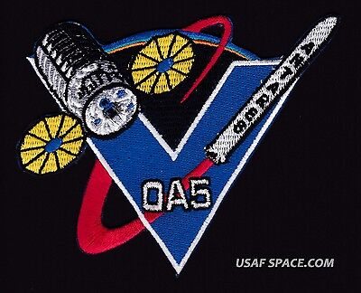 NEW OA-5 Cygnus Mission ORBITAL ATK-NASA ISS COMMERCIAL RESUPPLY -ORIGINAL PATCH