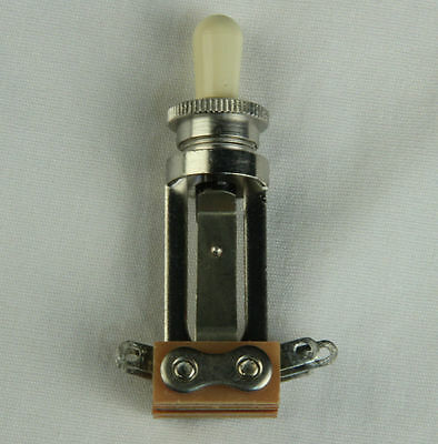 Genuine USA Switchcraft 3 Way Toggle Switch STRAIGHT for Gibson Les Paul Guitar