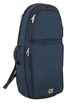 Tom and Will 26EU-387 Euphonium Gig Bag Case, Blue **NEW**