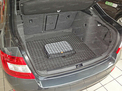 Cargo Net Skoda Octavia Iii Liftback Car Boot Luggage Trunk Floor Net Storage
