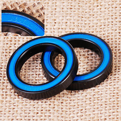 Pair 25x37x6mm 6805N 2RS Deep Groove Rubber Shielded Sealed Bicycle Ball Bearing