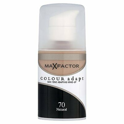Max Factor Colour Adapt Foundation 34ml- Choose Your Shade
