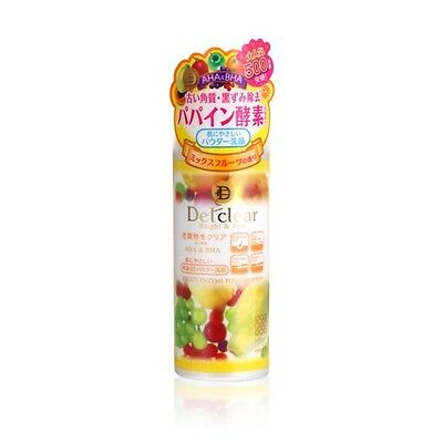 Meishoku DETCLEAR Bright & Peel Fruit Enzyme Powder Face Wash 75g