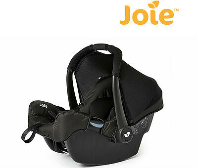 NEW Joie Gemm Baby Infant Car Seat Carrier Black 0 - 12 Months Birth to 13kgs