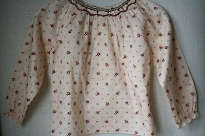 Marie Chantal Baby Floral Smocked Blouse Top 24 Months