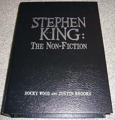 STEPHEN KING: THE NON-FICTION Signed Traycased Lettered Edition