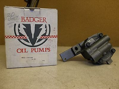 NEW Badger Oil Pump 41-51U for Chevy 2.0L *FREE SHIPPING*