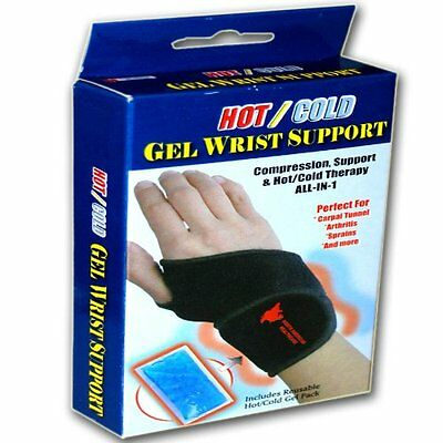 Hot/Cold Pack Reusable Gel Wrist Support