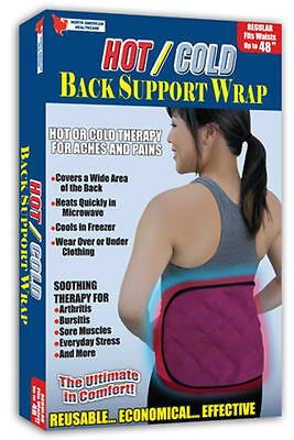 Hot/Cold Reusable Back Support Wrap